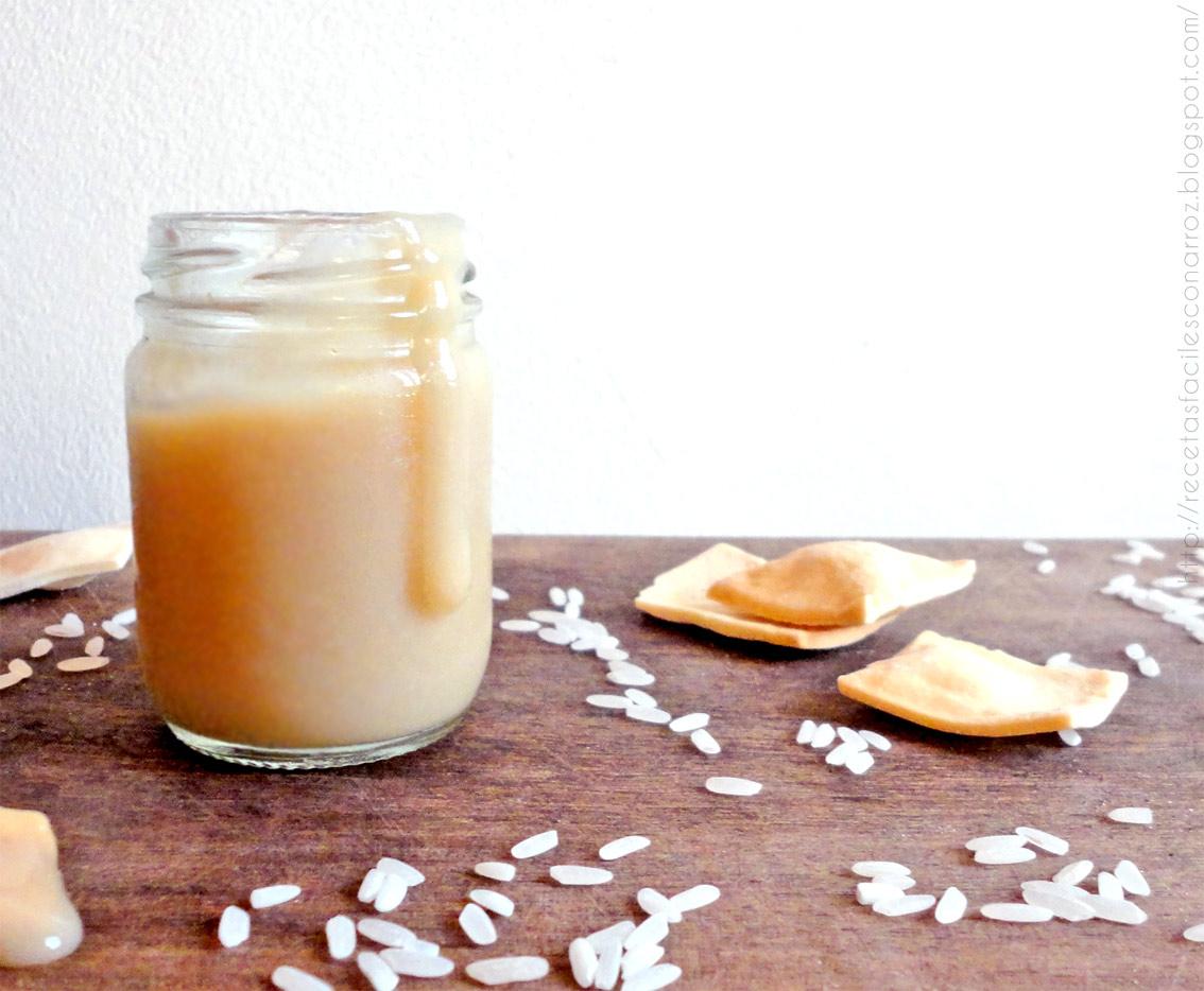 Dulce de leche con leche de arroz (Segundo Intento)