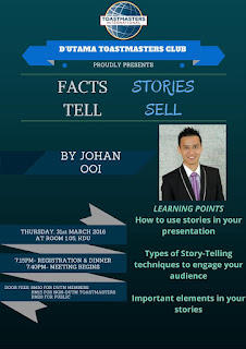 Facts Tell Stories Sell poster 1
