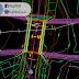 مخطط مجموعة جسور لطريق واحد 2 اوتوكاد dwg