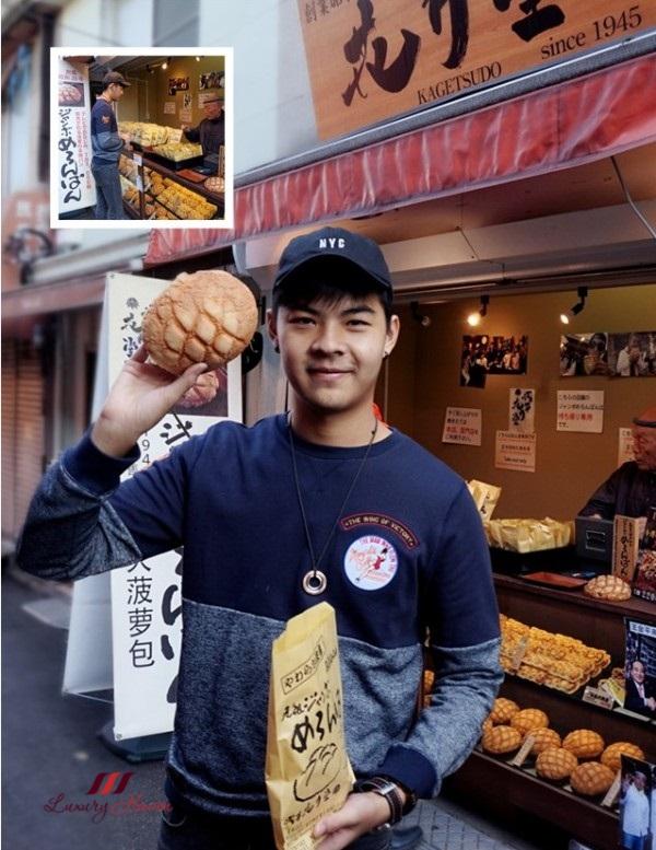 japanese kagetsudo asakusa jumbo melon buns
