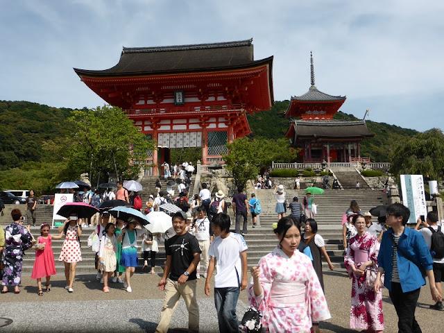 Entrada al templo Kiyomizudera