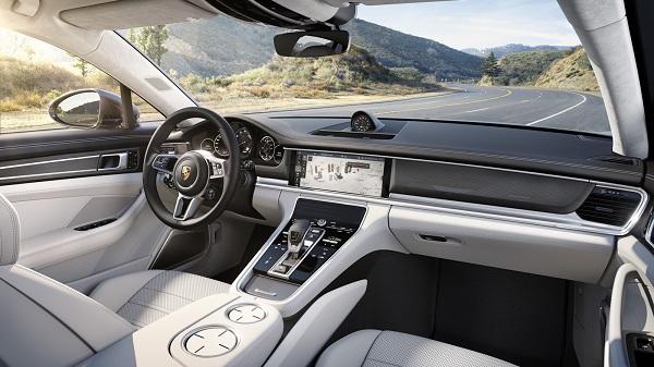 Interior Porsche Panamera