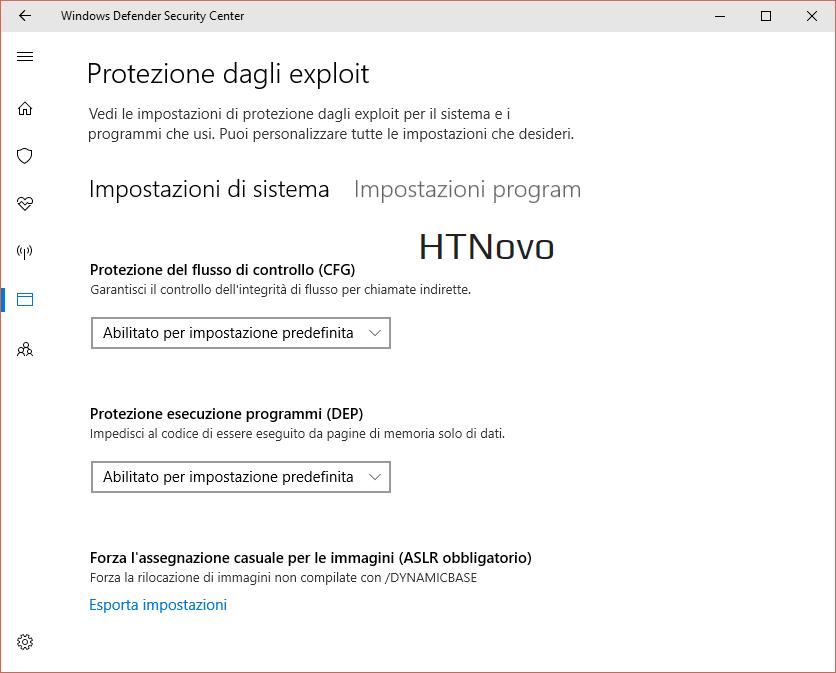 Protezione-exploit