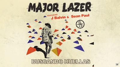Major Lazer - Buscando Huellas ft. J Balvin & Sean Paul ( #Official #Audio #Video )