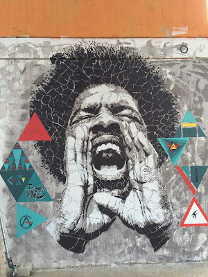 João Samina's murals at Edonè are impressive