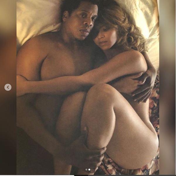 Beyonce et Jay-Z dévoilent leur intimité sur la toile