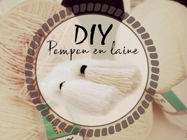 DIY Pompon en laine