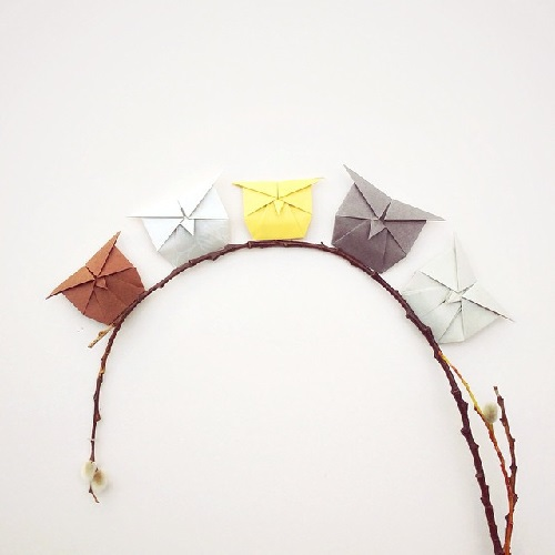 My Owl Barn Adorable Origami Animals With Everyday Objects