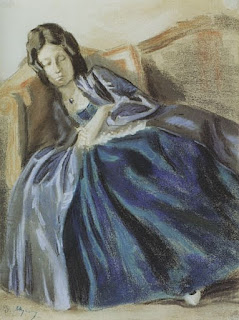 Борисов-Мусатов Виктор Эльпидифорович (1870-1905) «Спящая девушка»