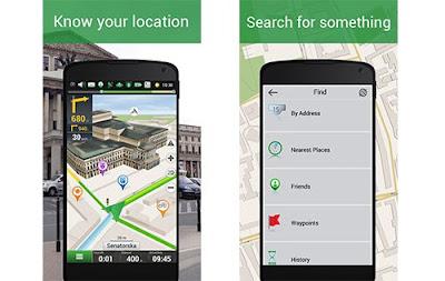 7 Aplikasi GPS Android Terbaik 2016