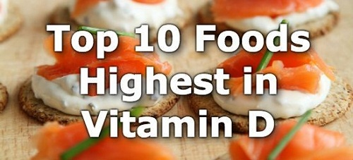 Top 10 Foods Highest in Vitamin D  - 10 Healthy Foods That Are High in Vitamin D