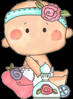 bebita para baby shower