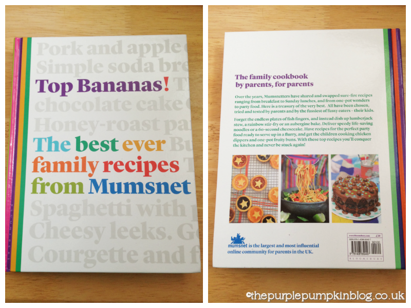 Top bananas the best ever family recipes from mumsnet book review top bananas is divided into 12 chapters breakfast packed lunch soup one pot wonders lovely veggies slow cooking sunday lunch fast food forumfinder Choice Image
