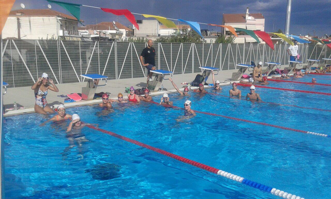 Σε δοκιμαστική χρήση στο ευρύ κοινό το νέο Κολυμβητήριο στη Νέα Πολιτεία Λάρισας (ΦΩΤΟ)