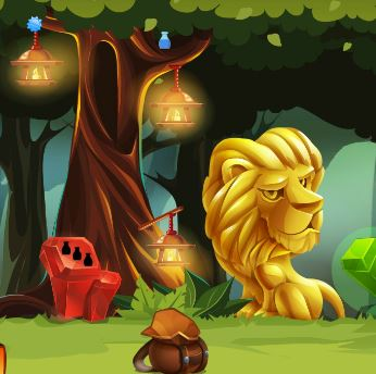ZooZooGames Hidden Treasure Forest Escape