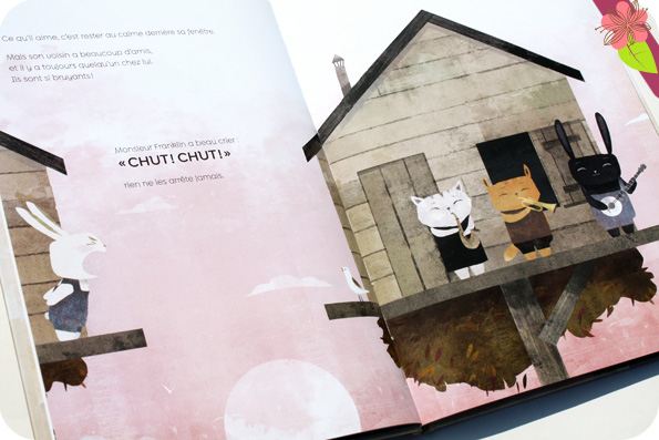 Chut ! de Morgane de Cadier et Florian Pigé - éditions HongFei