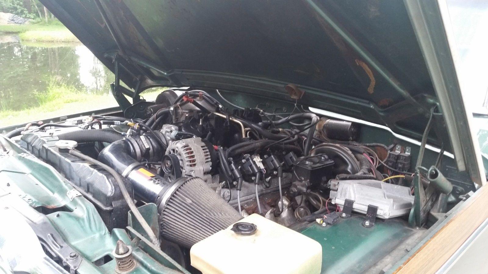 Daily Turismo: Vortec V8 Swap: 1979 Jeep Wagoneer