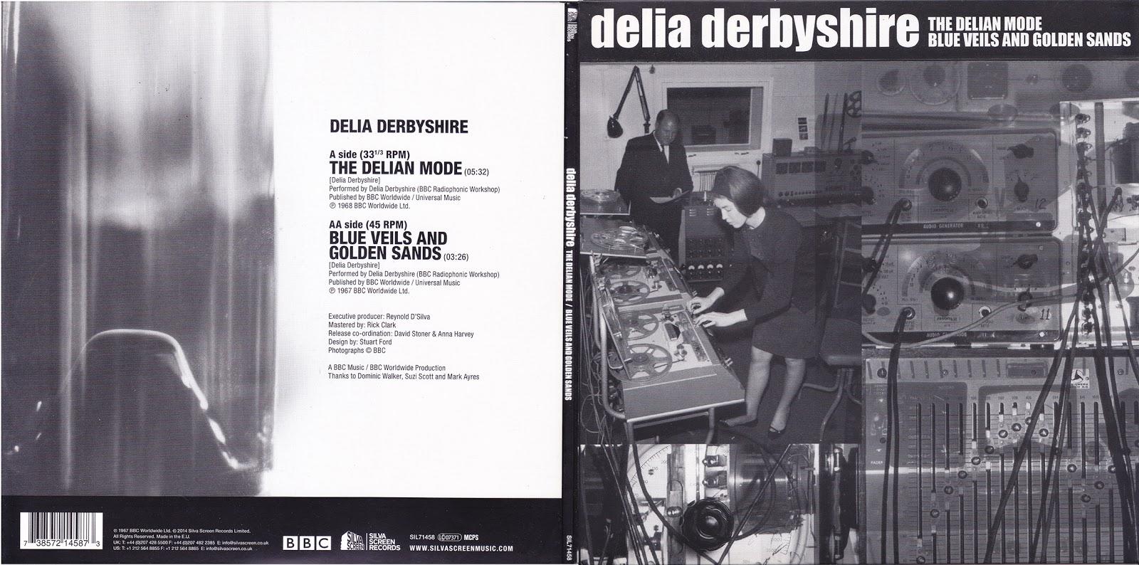 wohnstuben gestaltung : Delia Derbyshire The Delian Mode Blue Veils And Golden Sands 7