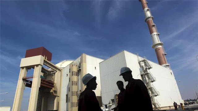 revolusiilmiah.com - Pembangunan Reaktor Nuklir di Iran