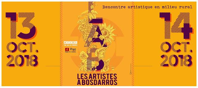 Artistes à Bosdarros 2018