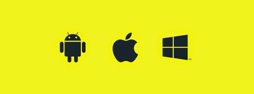 Infographic - iOS, Android vs Windows Phone