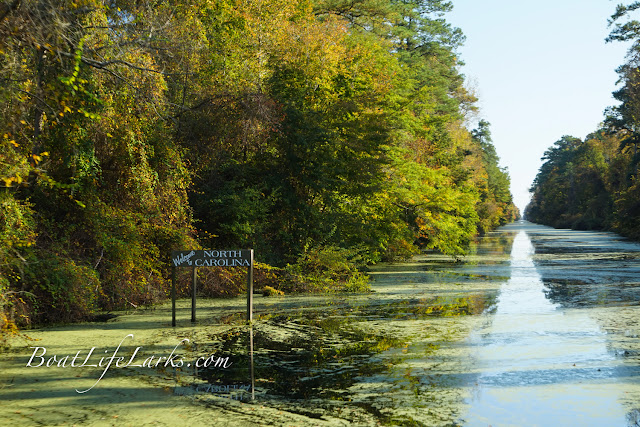 North Carolina state line, Dismal Swamp Canal