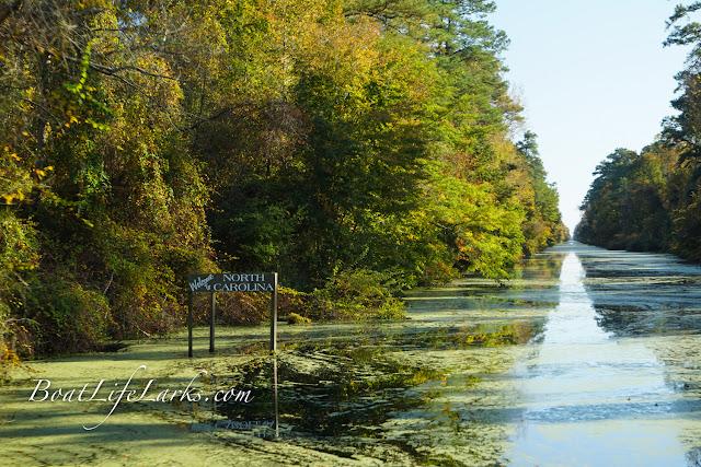 North Carolina state line, Dismal Swamp Canal