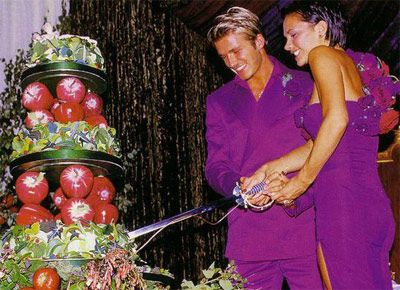 david victoria beckham wedding cake cakes by mizvuitton the ultimate wedding throwback 13357