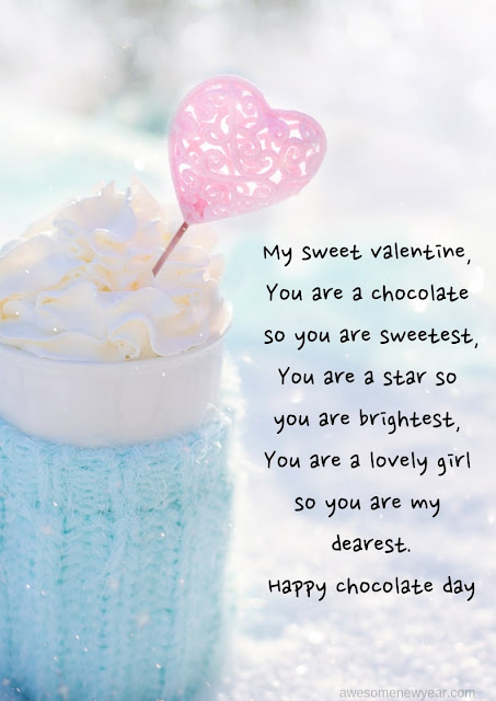 #ChocolateDay Quotes for boyfriend