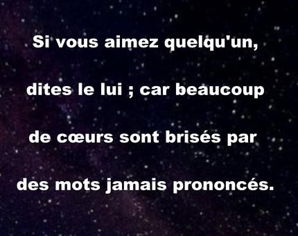 Magnifique Texte Damour