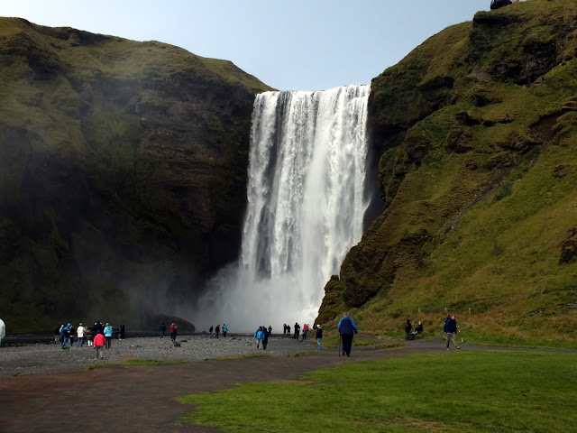 una de las cascadas más bonitas de Islandia