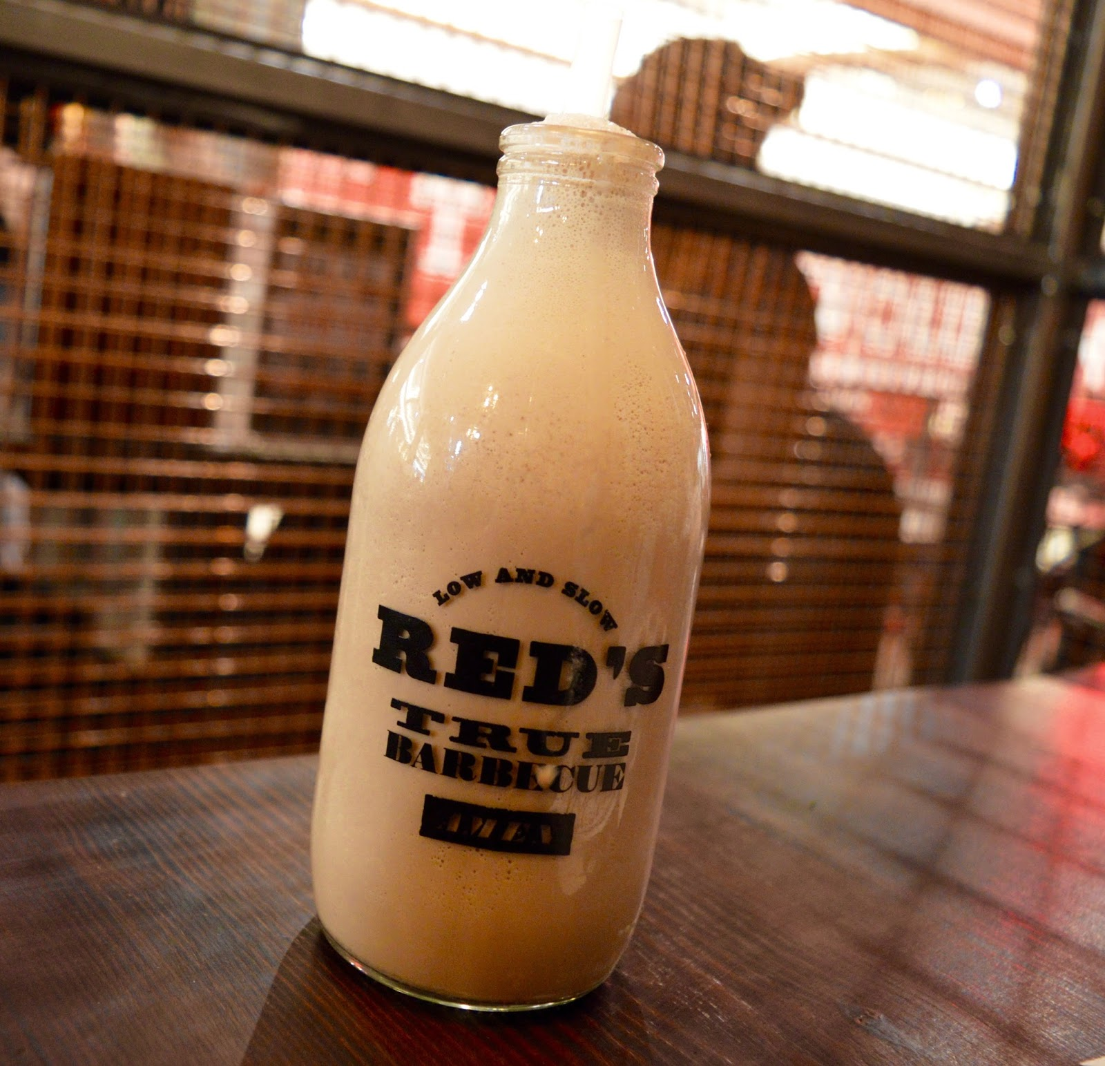 Red's True BBQ Newcastle | Menu Review (including Children's Menu) - chocolate and salted caramel milkshake