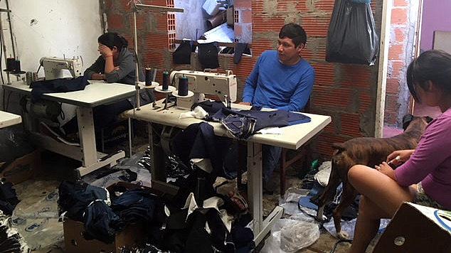 Servidumbre y trata de personas en dos talleres textiles inspeccionados por la AFIP