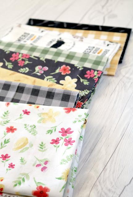 Homestead Life fabrics by Tara Reed and Riley Blake Designs - found on A Bright Corner