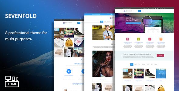 Sevenfold WordPress Theme
