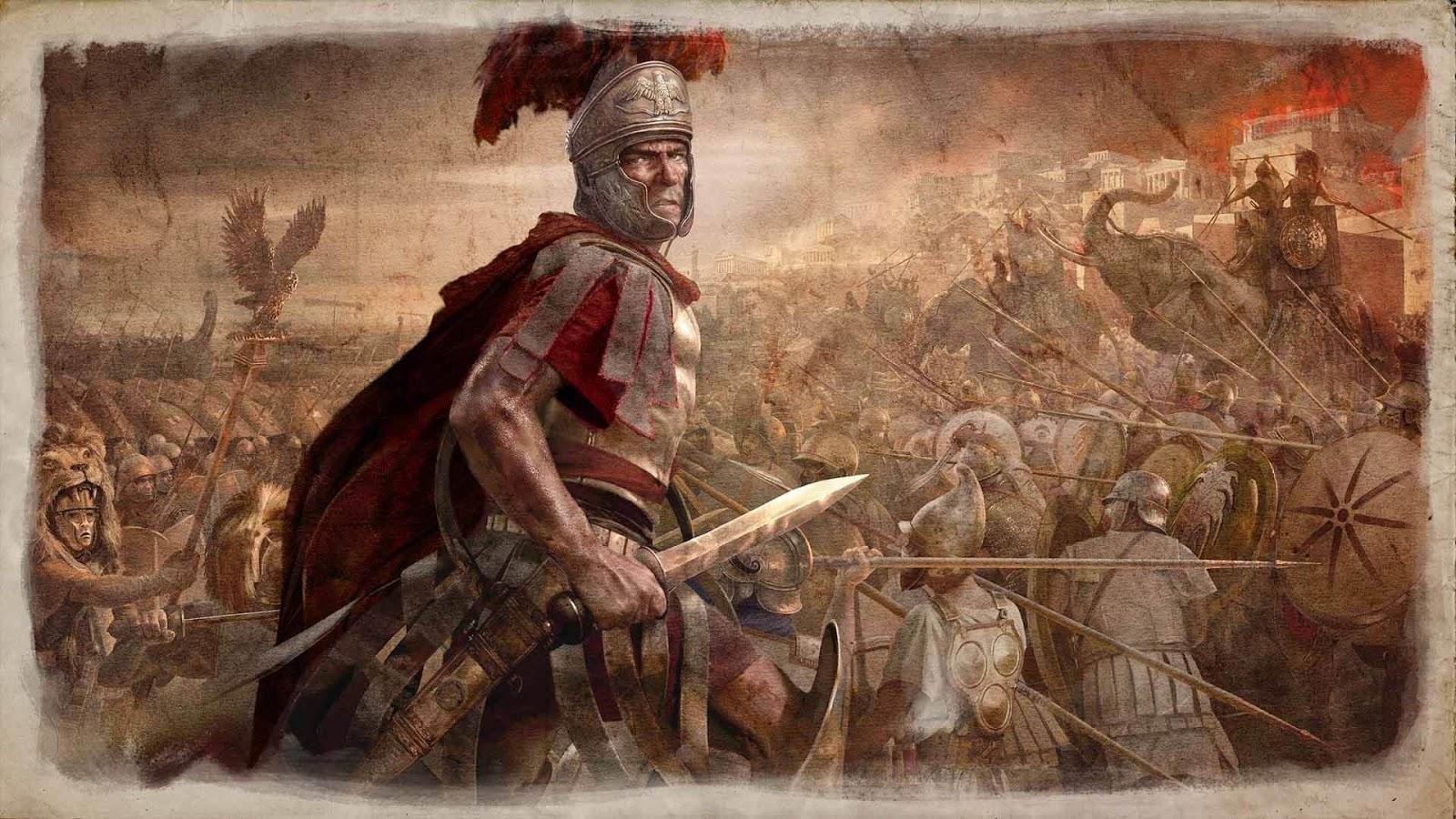 تحميل لعبة rome total war 2