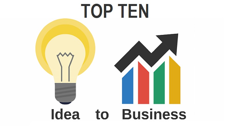 Top 10 Small Business Ideas For Beginners And Startup