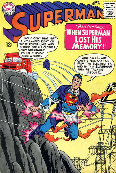 Episode #384 Part I: Superman Comic Book Cover Dated July 1965: Superman #178!