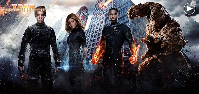 Cei patru super-eroi Marvel, sunt periculoşi în noul trailer pentru Fantastic Four