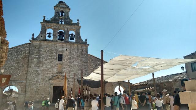 Maderuelo iglesia Santa Maria del Castillo