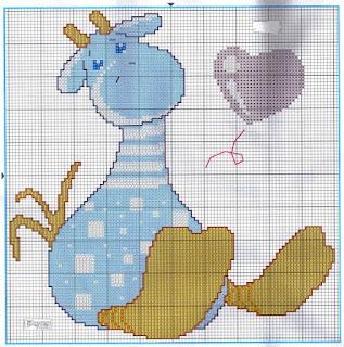 jirafa canastilla bebe