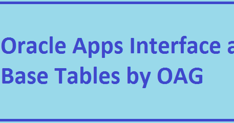 AP, AR, GL, INV, PA, FA, PO, TCA, Workflow - Interface and Base
