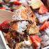 Strawberry Nutella Croissant French Toast Bake