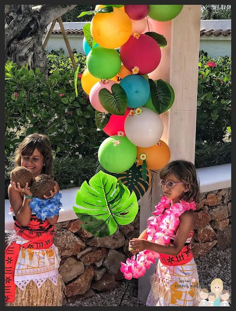 Sexto cumpleaños de las mellis: Vaiana