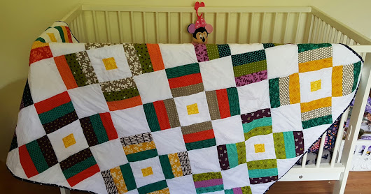 Stacie Thinks She Can: Fireworks quilt