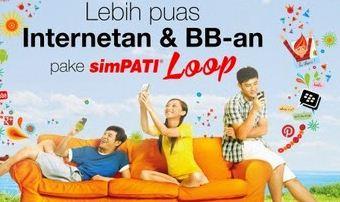 Cara Daftar Paket BB simPATI Loop