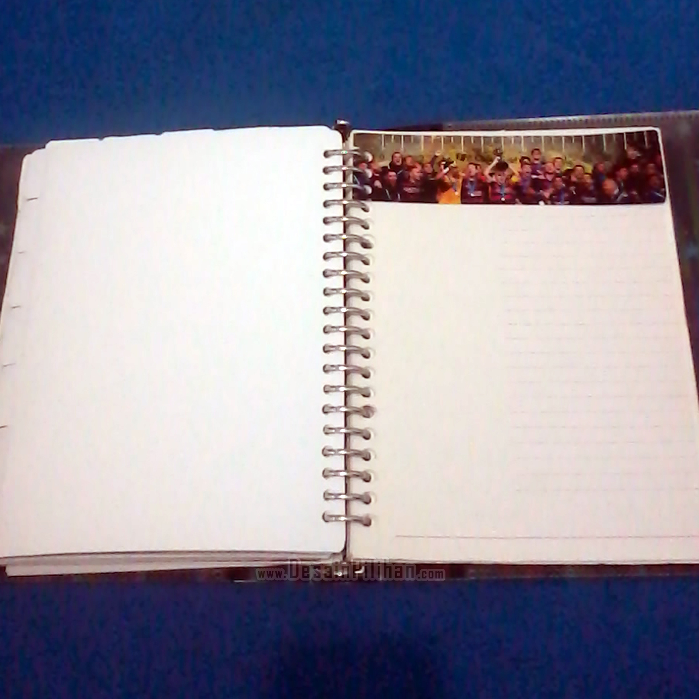 RULER DIVIDER BINDER CUSTOM, PENGGARIS BINDER FOOTBALL CLUB, PEMBATAS BINDER BARCELONA