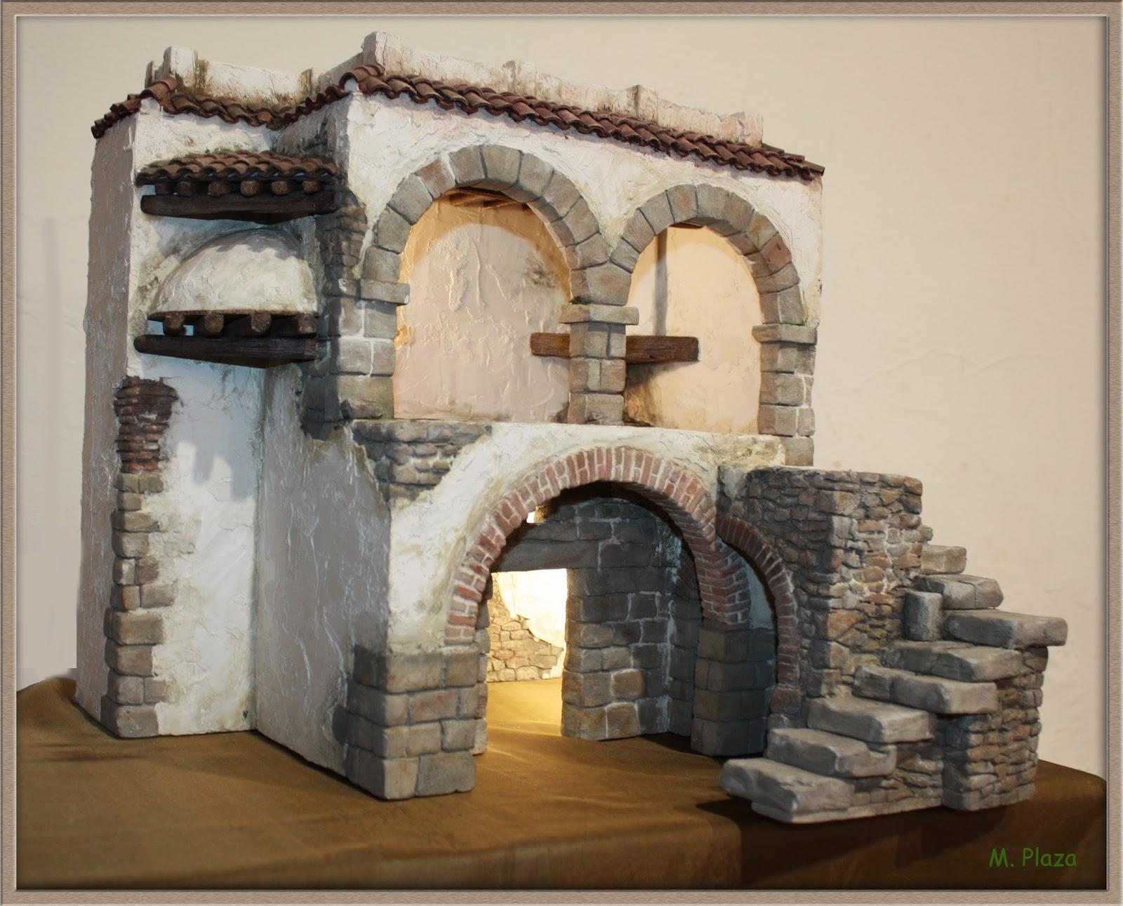 El taller de miguel artesan a para el bel n casa anunciaci n - Ideas para hacer una casa ...