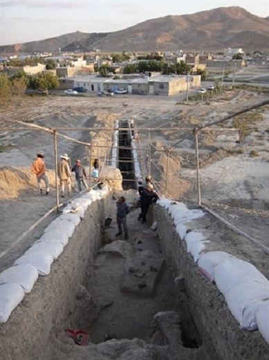 Bronze Age wall discovered in northeast Iran