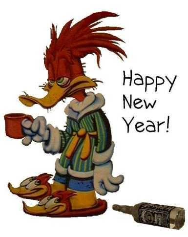 happy new year 2018 cartoons
